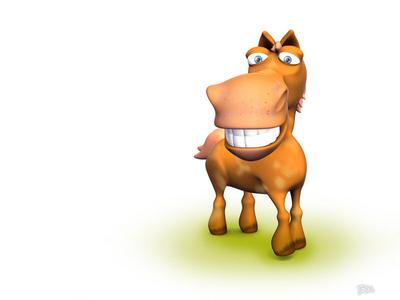 超搞笑3D动物 39张壁纸图片 第22张-ZOL壁纸